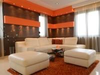 Ajtonyi Rita lakberendező belsőépítész referencia fotói | Olasz bútorokkal - Modern nappali ülőgarnitúrával