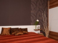 Ajtonyi Rita lakberendező belsőépítész referencia fotói | Csoki és narancs - Modern háló