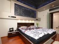 Ajtonyi Rita lakberendező belsőépítész referencia fotói | Merano és fekete - Modern háló