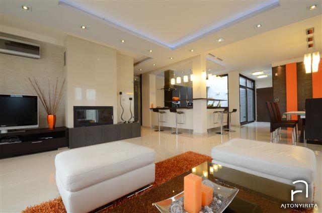 Olasz bútorokkal – Modern nappali és konyha  Ajtonyi Rita