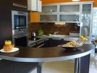 Ajtonyi Rita lakberendező belsőépítész referencia fotói | Csoki és narancs - Modern konyha