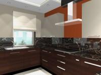 Látványtervek - Modern konyha