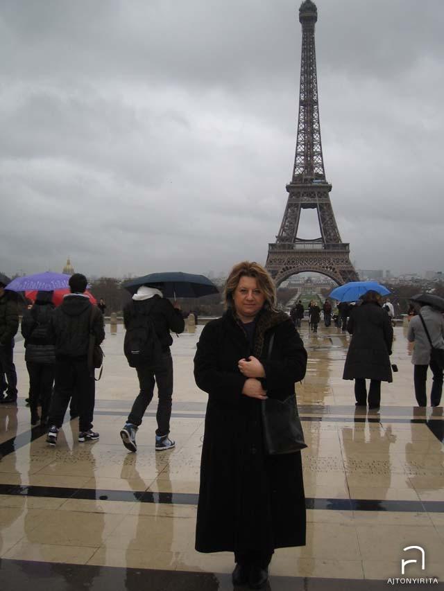 Az Eiffel toronynál is jártunk