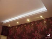 Ajtonyi Rita lakberendező belsőépítész referencia fotói | Viva lakópark - Gipszkarton beépített világítással