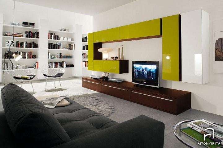 A modern nappali tároló bútor