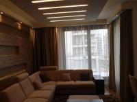 Ajtonyi Rita lakberendező belsőépítész referencia fotói | Marina parti lakás - Modern nappali ülőgarnitúra