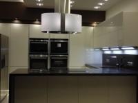 modern konyhai világítási megoldások